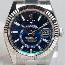 Rolex Sky-Dweller Staal 42mm Blauw Geen cijfers Nederland, Maastricht