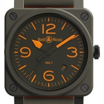 Bell & Ross BR 03-92 Ceramic BR0392-KAO-CE/SCA new