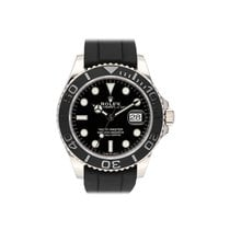 Rolex Yacht-Master 42 pre-owned 42mm Black Date Fold clasp