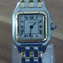 Cartier Panthere kleines Modell Stahl/18k 750 Gold revisioniert