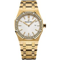 Audemars Piguet Royal Oak Lady Oro giallo 33mm Argento