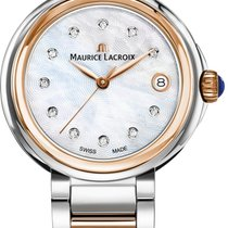 Maurice Lacroix Fiaba Round FA1007-PVP13-170-1 Damenarmbanduhr...