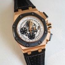 Audemars Piguet Royal Oak Offshore Chronograph Rose gold 44mm White No numerals