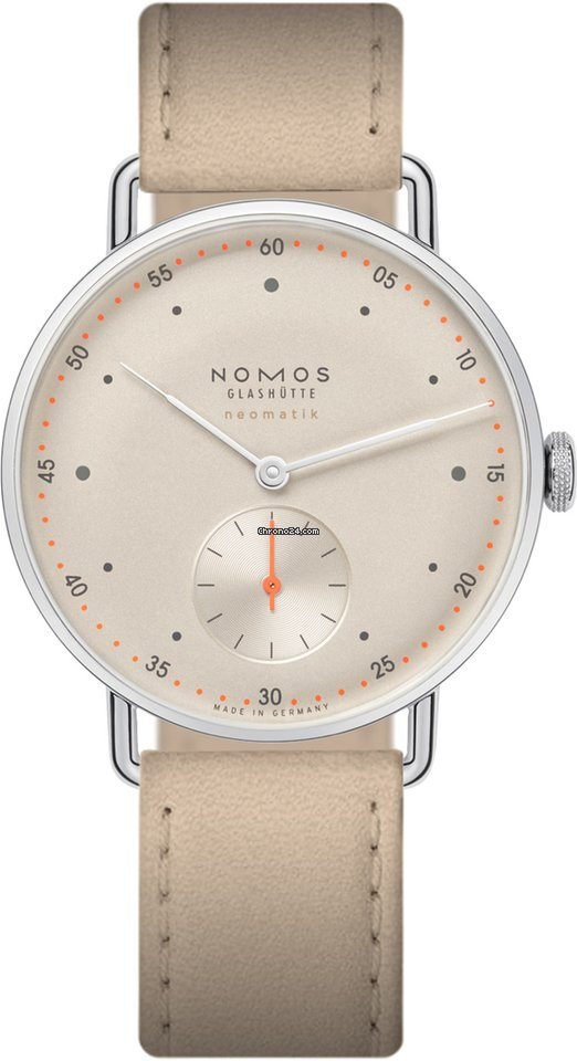 NOMOS Metro Neomatik 1107 Champagner 2021 new