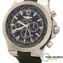 Breitling Bentley GMT Limited Edition 387/1000 A47362 Green Watch