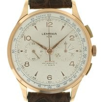 Lemania 105 Chrono oro rosa art. Nr189