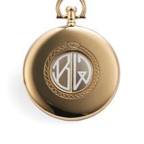 """Cartier Shutter Pocket Watch - """"Guillotine"""" Yellow Gold"""