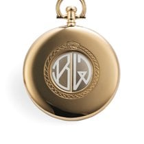 Cartier 1200 Shutter Pocket Watch - Guillotine Yellow Gold
