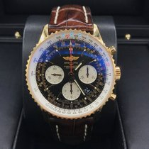 Breitling Navitimer Rose Gold Black Dial 43mm RB0120
