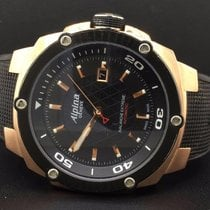Alpina Avalanche Extreme Steel Rose Gold Plated 47mm Rubber...