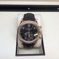 Patek Philippe Annual Calendar Chronograph Rose gold 40mmmm Black