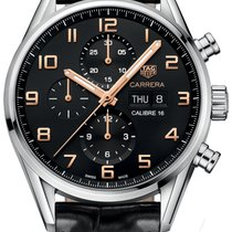 TAG Heuer Carrera Calibre 16 Steel 43mm Black United States of America, New York, Airmont