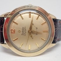 Zodiac Autographic 10k Gold Filled Power Reserve Automatic...