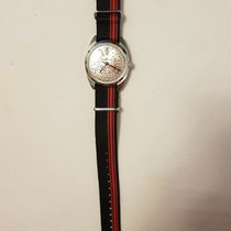 Fortis pre-owned Manual winding 38mm Silver 10 ATM