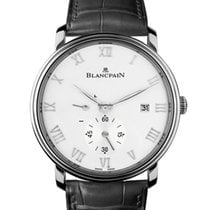 Blancpain Villeret Ultraflach neu 40mm Stahl
