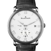 Blancpain Villeret Ultra-Slim 6606112755B New Steel 40mm Manual winding