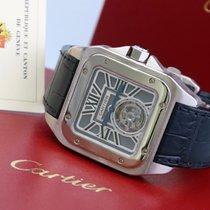 Cartier Santos 100 Белое золото