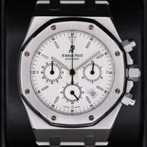 Audemars Piguet Royal Oak White Dial 39mm Stainless Steel 25860ST