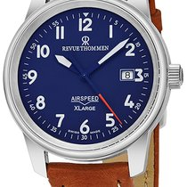 Revue Thommen Automatic new Airspeed - X Large Blue