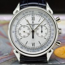 Vacheron Constantin Chronograph 38.5mm Manual winding pre-owned Historiques White