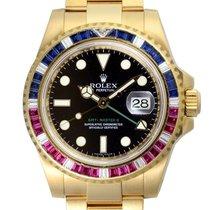 Rolex 116748SARU Yellow gold GMT-Master II