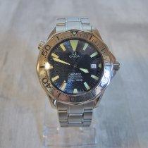 Omega 2255.80.00 Steel Seamaster Diver 300 M 41mm pre-owned
