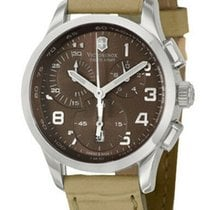 Victorinox Swiss Army Alliance Stal 34mm Brązowy Arabskie