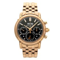 Patek Philippe Perpetual Calendar Chronograph Rose gold 40.2mm Black No numerals United States of America, Pennsylvania, Bala Cynwyd