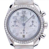 Omega 324.18.38.40.05.001 Steel Speedmaster Ladies Chronograph 38mm new