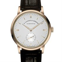 A. Lange & Söhne Saxonia Rose gold 35mm Silver United States of America, New York, NY