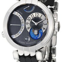 Harry Winston Premier White gold 39mm Silver Arabic numerals