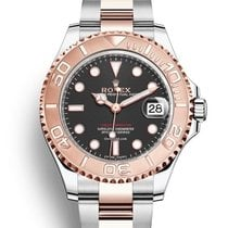 Rolex Yacht-Master 37 Gold/Steel 37mm Brown No numerals United States of America, New Jersey, Woodbridge