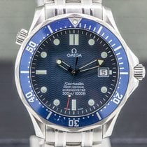 Omega Seamaster Diver 300 M Steel 41mm Blue Arabic numerals United States of America, Massachusetts, Boston