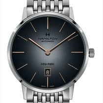 Hamilton Intra-Matic Steel 42mm Grey