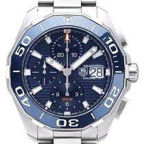 TAG Heuer Aquaracer 300M new 2019 Automatic Chronograph Watch with original box and original papers CAY211B.BA0927