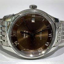 Omega De Ville Hour Vision новые Автоподзавод Часы с оригинальными документами и коробкой 433.10.41.21.10.001