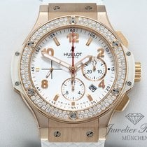 Hublot Yellow gold Automatic White Arabic numerals 44mm pre-owned Big Bang 44 mm