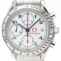 Omega Speedmaster Date Steel 39mm White