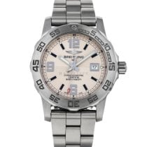 Breitling Colt 44 Steel 44mm Silver Arabic numerals United States of America, Maryland, Baltimore, MD