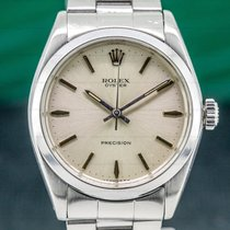 Rolex Oyster Precision Steel 35mm Silver United States of America, Massachusetts, Boston