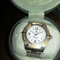 TAG Heuer 2000 Gold/Steel 38mm White Arabic numerals