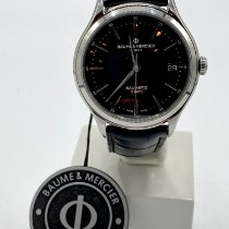 Baume & Mercier Clifton Steel 40mm Black United States of America, New Jersey, Wyckoff