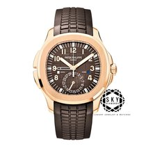 Patek Philippe Aquanaut Or rose 40.8mm Brun Arabes