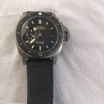 Panerai Luminor Submersible 1950 3 Days Automatic Titanio 47mm Negro Sin cifras España, Portocolom