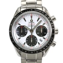 Omega Speedmaster Date Staal 40mm Wit