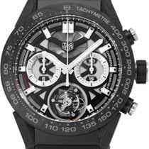 TAG Heuer Carrera Heuer-02T pre-owned 45mm Rubber