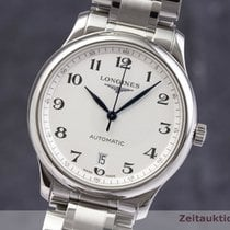 Longines Master Collection Zeljezo 38.5mm Srebro