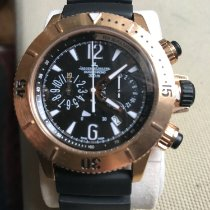 Jaeger-LeCoultre Master Compressor Diving Chronograph Or rose 44mm Noir Arabes France, Paris