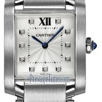 Cartier Tank Française new Quartz Watch with original box