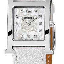 Hermès Steel 21mm Quartz Heure H new United States of America, New York, Airmont